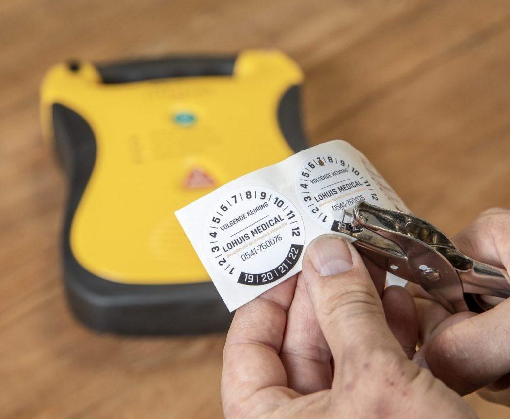 Onderhoud AED